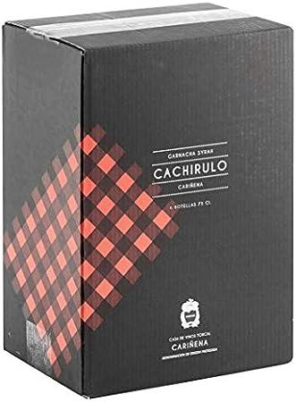 Cachirulo Rojo - Caja 6 Botellas de Vino Tinto - Garnacha & Syrah - 2016 - DOP Cariñena - Bodega Hnos. Torcal, de quinta generación