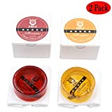 WOGOD Natural Rosin for Violin Cello and Viola Handmade (1Yellow+1Red)