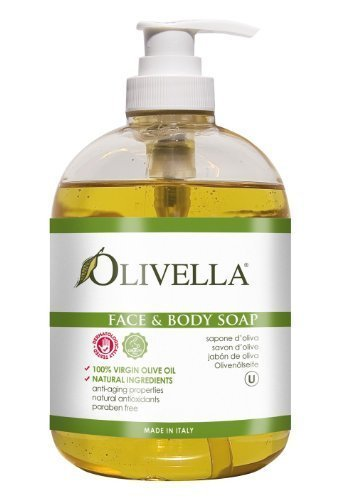 Olivella Face & Body Soap Bath Soaps 16.9 oz (Pack of 2)