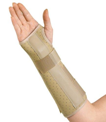 Medline Vinyl Wrist and Forearm Splint, Right, Small ()