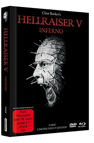 Hellraiser 5 - Inferno - Limited Uncut 2-Disc Mediabook (DVD+Blu-ray Disc) - Black Edition [Limited Edition] [Import - Ray Blu Two Hellraiser