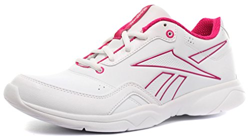 Femme Sneakers Blanc White Aerobics Fitness Reebok Advance pink Studio Baskets qgwvU4