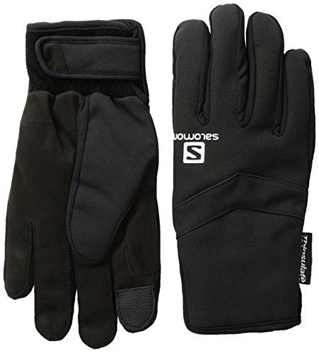 Salomon Men's Thermo Gloves, Black, X-Large (Salomon Ski Gloves)