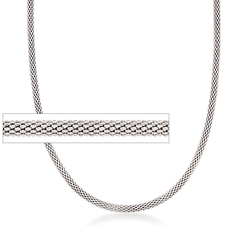 Ross-Simons Italian 2.8mm Sterling Silver Popcorn Chain
