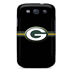 Durable Case For The Galaxy S3- Eco-friendly Retail Packaging(green Bay Packers)