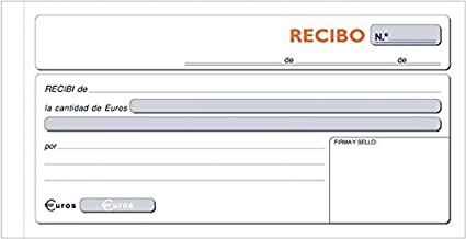 Loan T 60 Talonario Recibo Dupli 207x 109 Mm 10 Unidades