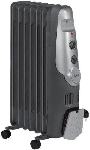AEG 7 Fin Oil Radiator, 1500 Watt