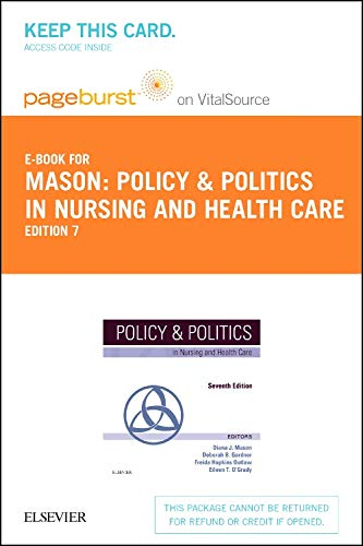 Policy and Politics in Nursing and Health Care - Elsevier eBook on VitalSource (Retail Access Card)