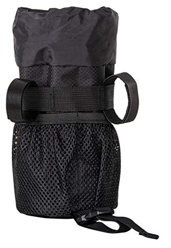 Moosetreks Bike Handlebar Stem Bag | Food Snack Storage, Water Bottle Holder | Bikepacking, Bicycle Touring, Commuting, Insulated Pouch by Moosetreks (Image #2)