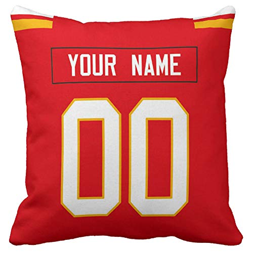 Personalized Custom Football Decorative Throw Pillow 18