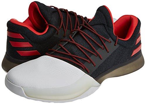 adidas Harden Vol. 1 - Zapatillas de baloncesto para Hombre, Negro - (NEGBAS/ESCARL/FTWBLA) 54 2/3