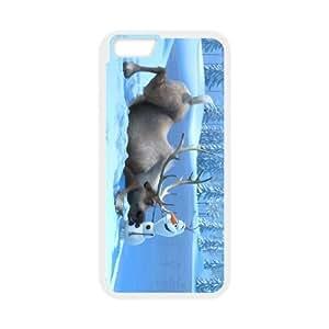 iphone6 4.7 inch Phone Case White Frozen Sven CZL5839417