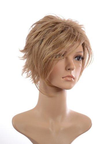 Sharon Blonde Wig - Ash Blonde Short Wig   Lightweight