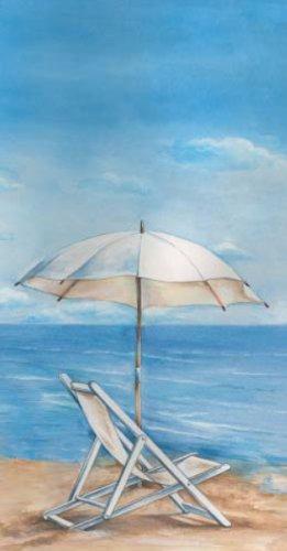 Ideal Home Range 16-Count 3-Ply Paper Guest Towel Napkins, Blue Horizon - Napkins Blue Guest