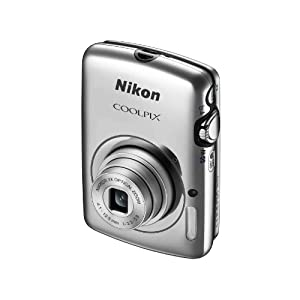 Nikon COOLPIX S01 10.1 MP Digital Camera with 3x Zoom NIKKOR Glass Lens (Silver)