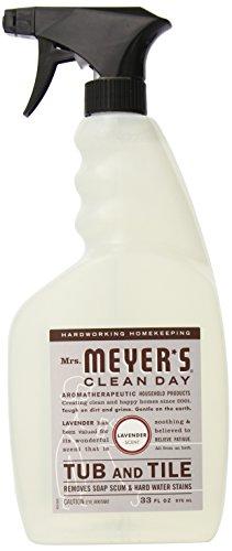 Mrs. Meyer's Tub and Tile Cleaner, Lavender, 33 Fluid Ounce