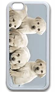 Cut Dog Pet Case for iPhone 6 TPU White by Cases & Mousepads