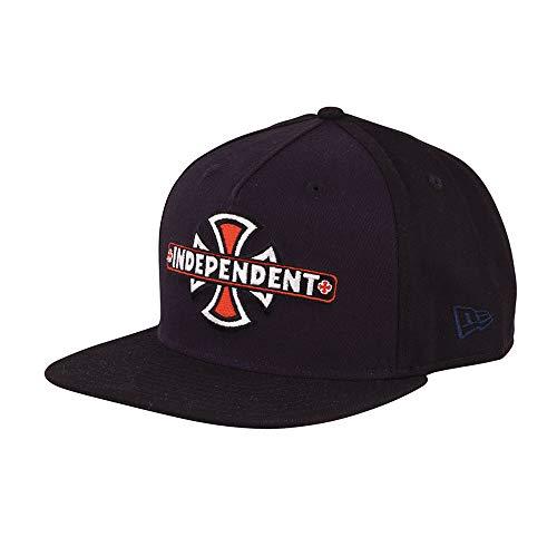 Era Vintage Hat (Independent Trucks Vintage Cross New Era 9FIFTY Men's Adjustable Snapback Hat - Navy/Black)
