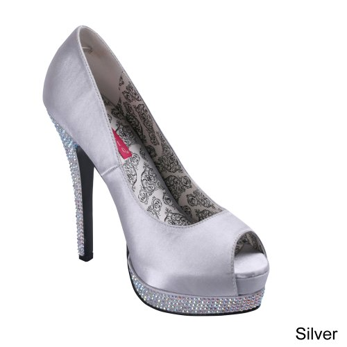 Pleaser usa - Escarpins Bella 12R Pointure - 41, Couleur - Argent