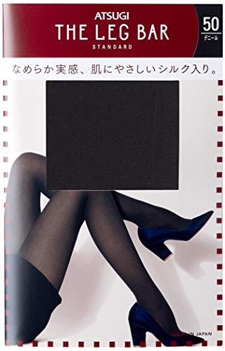 下に本質的ではない神秘的な[アツギ] タイツ Atsugi The Leg BAR(アツギザレッグバー) シルク入り プレーンタイツ 50デニール アツギザレッグバー レディース