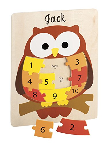 Miles Kimball Personalized Number Puzzle
