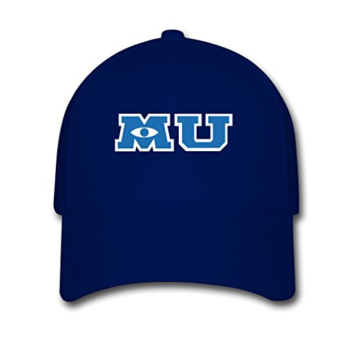 [HANJIANG Adult Monsters University 3D Comedy Film Adjustable Baseball Cap] (Monsters University Hat)