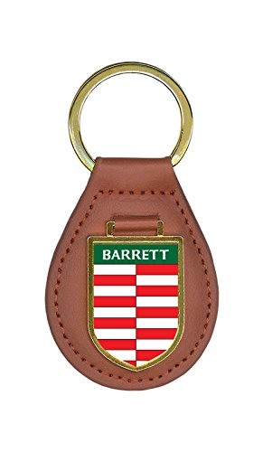 barrett-family-crest-coat-of-arms-lot-of-1-total-key-chains