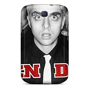 CharlesPoirier Samsung Galaxy S3 Protective Hard Cell-phone Case Unique Design Stylish Green Day Pictures [EMc4256KKSq]