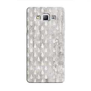 Cover It Up - Raindrops Grey Mosaic Galaxy A8 Hard Case