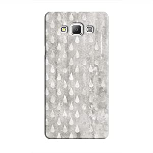 Cover It Up - Raindrops Grey Mosaic Galaxy A5 Hard Case