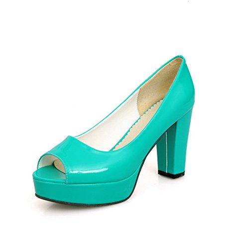 Kvinners Uretan merking Blå Baguette størrelse Mini Ikke Asl05133 Sandaler stil Balamasa dTqwx1d