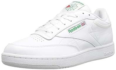 Reebok Men's Club C Sneaker,White,13 M