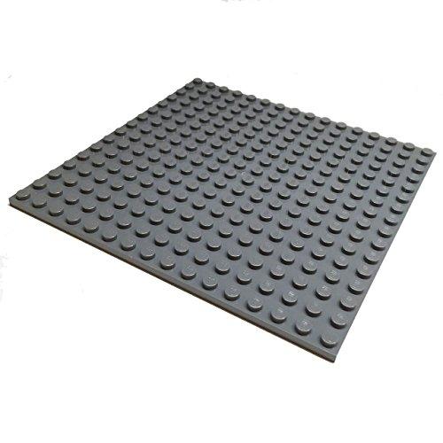 Lego Parts: City Building Plate 16 x 16 Studs (Dark Bluish Gray)