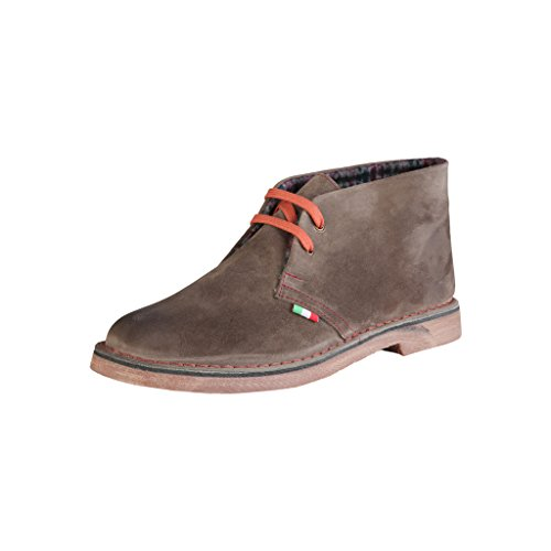 in Homme Marron Chukka Shoes Made Bottines Italia dWqx6wWF7H