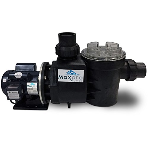 MaxPro Goliath Series 3/4 HP 14000 GPH Energy Saving Self-Priming External Pond & Waterfall Pump with 3-inch Unions MPG14000