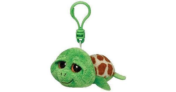 Amazon.com: TY Beanie Boo Clip para llaves por Ty de tortuga ...