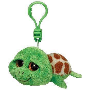 Amazon.com  TY Beanie Boo Key Clip Zippy Turtle by Ty  Baby 509c787b599
