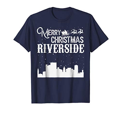 Merry Christmas Y'all Riverside City T-Shirt