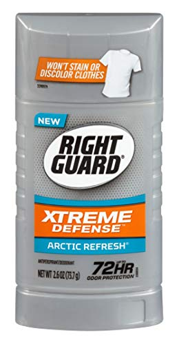 Right Guard Xtreme Defense 5 Arctic Refresh Antiperspirant 2.6 -