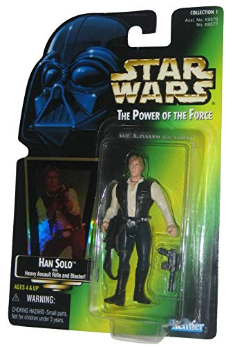 - Star Wars HAN Solo with Heavy Assault Rifle & Blaster 1997 The Power of t...