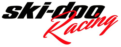 Ski-doo Racing Decal 9