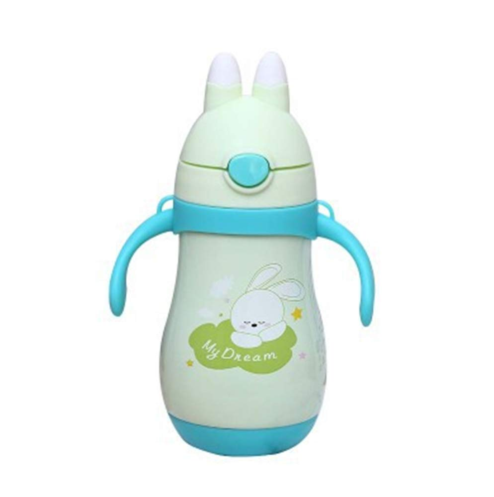 WM EsES Vaso de Acero Inoxidable reci/én Vendido Vaso de Acero Inoxidable Vaso Creativo Conejo beb/é Taza de refresco Actividad Cup Regalo