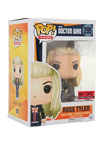 Funko Doctor Who Pop! Television Rose Tyler Vinyl Figure Hot Topic Exclusive Pre-Release by Hot Topic