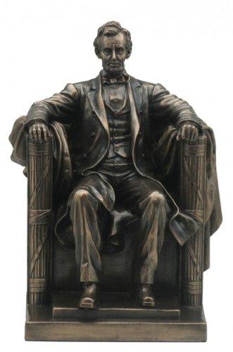 Unbekannt Abraham Abraham Abraham Lincoln 16.US Präsident bronziert Figur Skulptur dd208d
