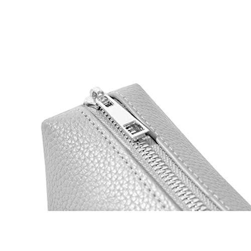 Borsa Libero Tasca Multi Tempo funzionale A Secchiello Pochette Per Da White Pochette Borsa Tracolla Il Da Elegante Fashion Donna Donna Tracolla Wild Tracolla Clutch Ampia HTAP7a