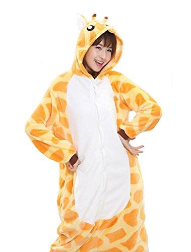 Vogstyle Plüsch-Hausschuhe Pyjamas Tier Onesie Body Nachtwäsche Kleid Overall Animal Sleepwear Erwachsene Pyjamas 1-20