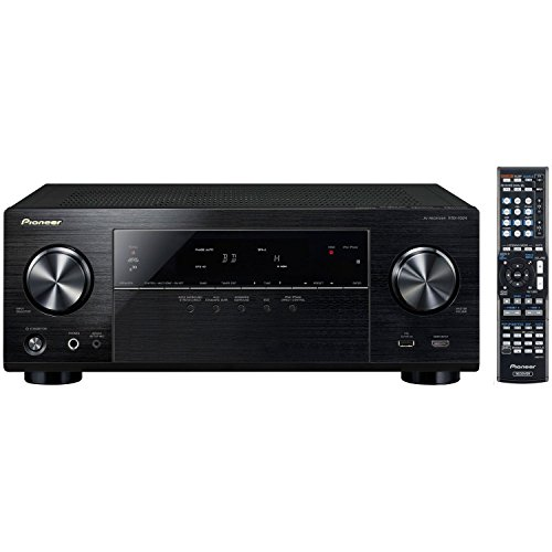 Best of Pioneer VSX-1024 7.2-Channel Network A/V Receiver (Black) + Klipsch HDT-600 Home Theater System Bundle