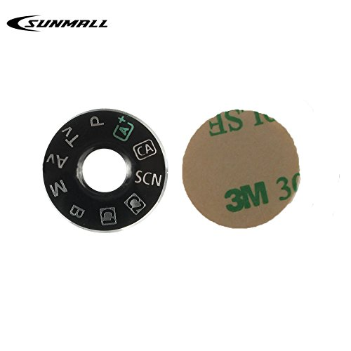 SUNMALL Interface Cap Button Replacement Part for Canon EOS 6D,Dial Mode Plate for Canon eos 6d, Digital Camera Repair Accessories for Canon 6d (6 Months Warranty)