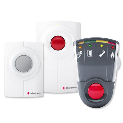 Bellman & Symfon Visit Kit with Vibrating Receiver for Phone & Doorbell (BE8003)