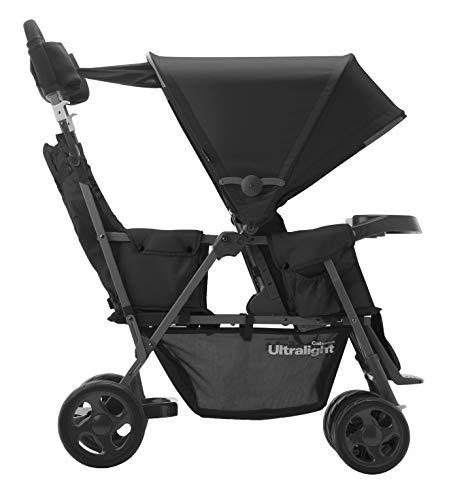 Best Double Baby Stroller 2021 - Joovy Caboose Ultralight Graphite
